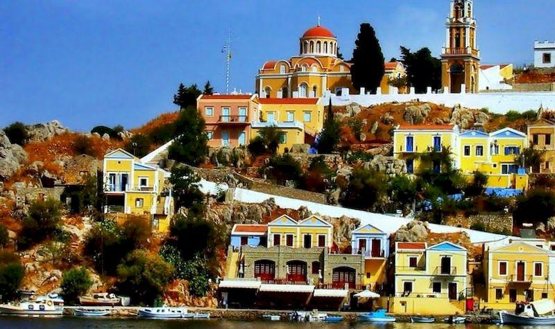 Греция, остров Сими