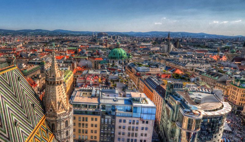 Австрия, центр Вены