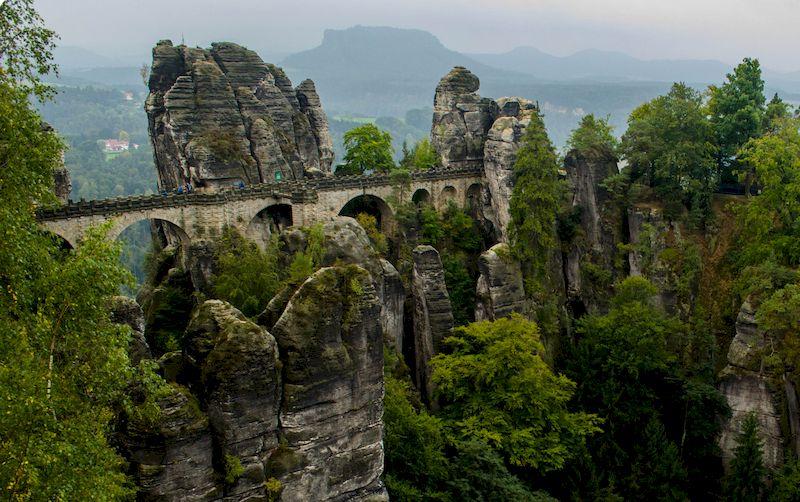 Саксонская Швейцария, мост Бастай