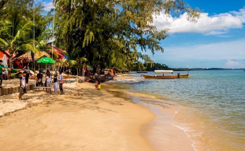 Камбоджа, пляжный отдых