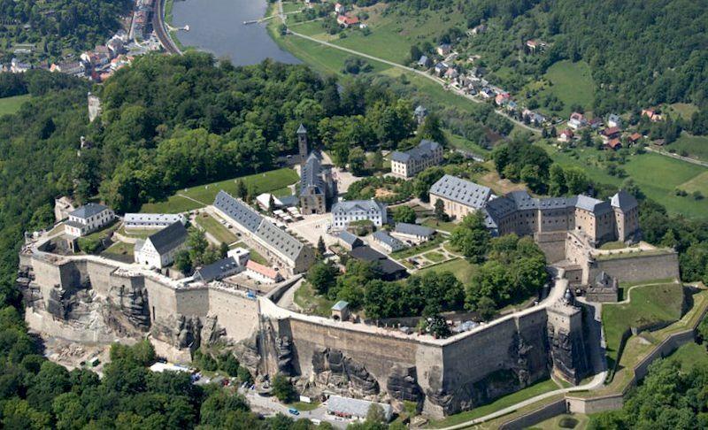 Саксонская Швейцария, крепость Кенигштайн