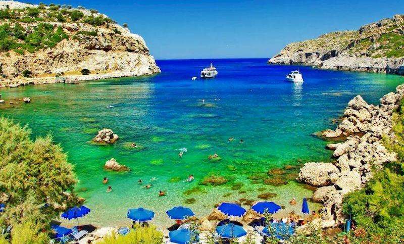 Отдых на острове Родос, в Греции