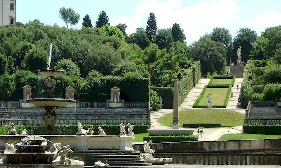 Сады Боболи, Флоренция, фото