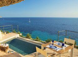 Cap Rocat, отель с собственным пляжем