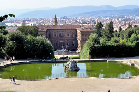 Палаццо Питти, Флоренция, фото