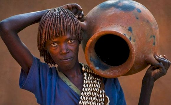 Женщина в Сомали, фото