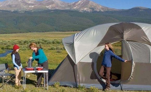 Туристическая палатка, фото
