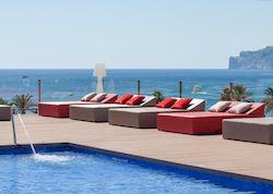 Viva Rey Don Jaime & Spa, отель с собственным пляжем, Испания
