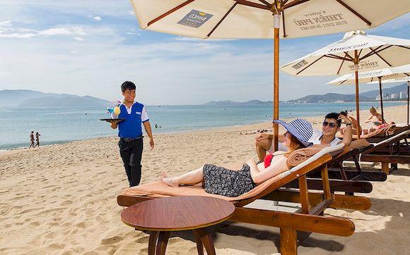 Bavico International Hotel, отель Нячанга 4 звезды с собственным пляжем, фото