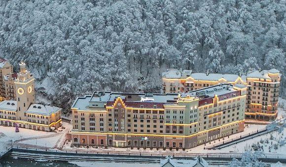 Radisson Hotel Rosa Khutor, отель в Сочи, фото