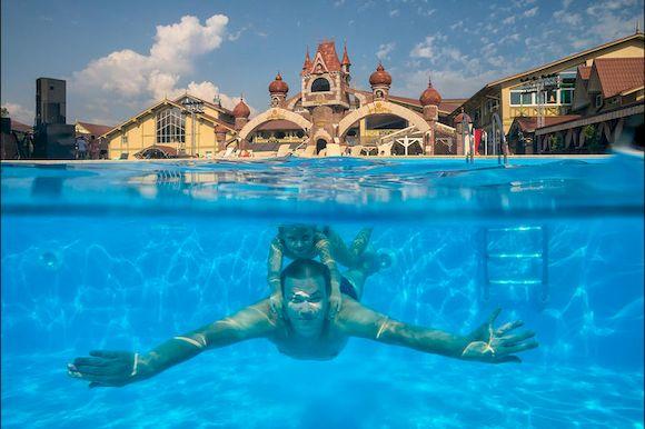 Анапа, отели «все включено» с бассейном и пляжем, первая линия, фото