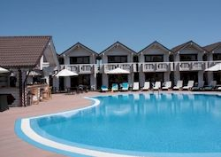 Белый пляж, отель в Анапе с бассейном и все включено