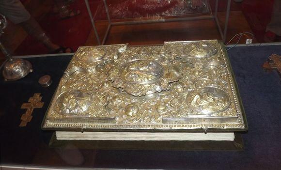 музей при Цетинском монастыре, экспонаты