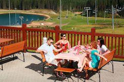 Лучший горнолыжный курорт Ленинградской области, спа отель Игора с басейном