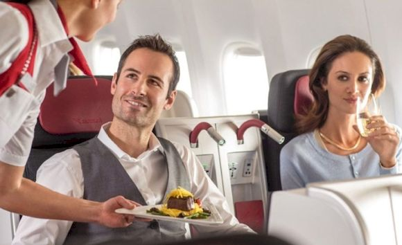 Премиум услуги в самолете