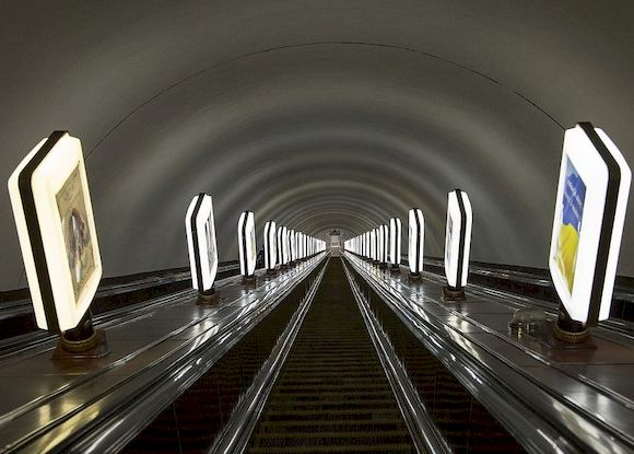 Глубокие станции метро
