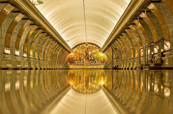 Парк Победы, 5 самых глубоких станций метро в мире