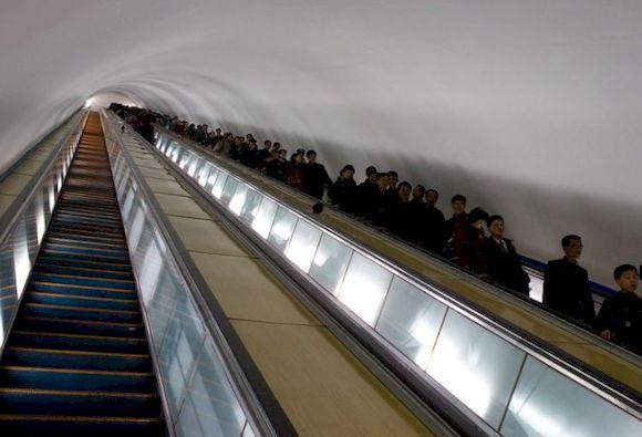 Пухын, глубокая станция метро