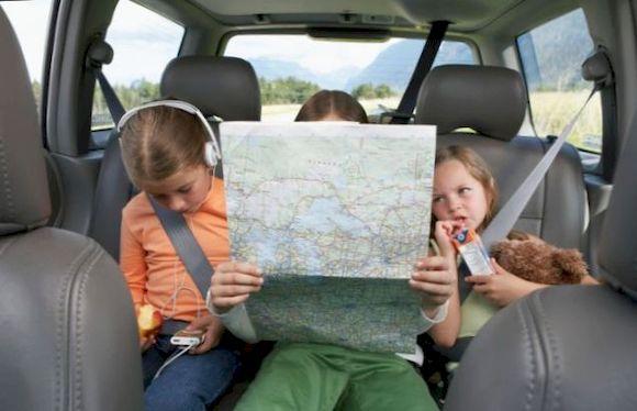 Безопасное путешествие на автомобиле