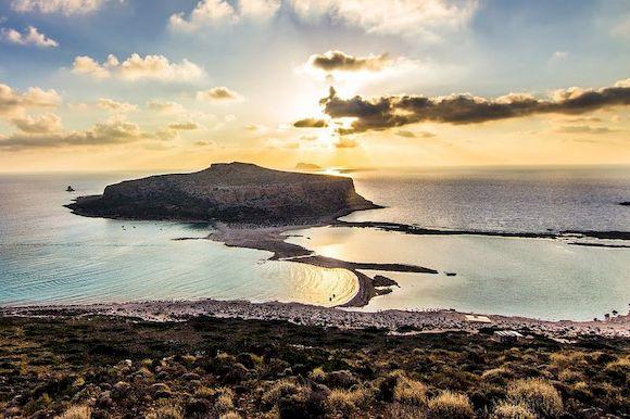 Пляжи Греции с белым песком, фото