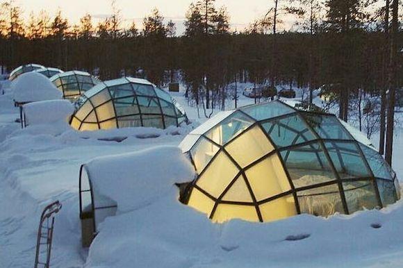 Kakslauttanen Arctic Resort, Финляндия, фото