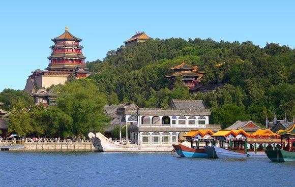 Летний дворец в Китае