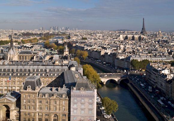Париж, фото