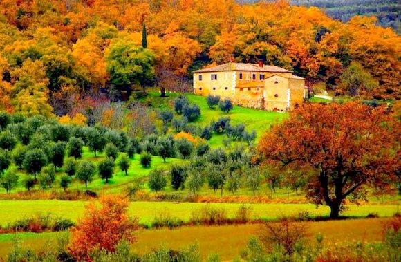 Тоскана в ноябре, фото