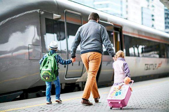 Общественный транспорт, фото
