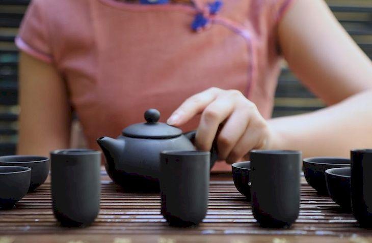 Чай, Китая
