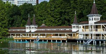 Озеро Хевиз, лечение в Венгрии