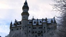 Замок Нойшванштайн в Германии, фото
