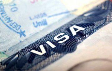 Виза в США, фото