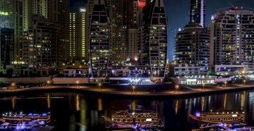 Дубай, сколько по времени лететь из Москвы
