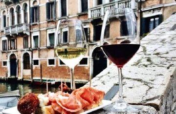 Еда в Венеции, фото