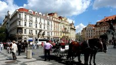 Прага, отели 3 звезды в центре