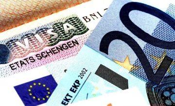 Шенгенская виза, фото