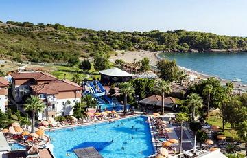 Гостиница Джастиано Клаб Алания в Турции