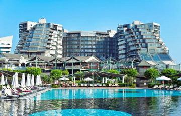 Гостиница Limak Lara De Luxe Hotel & Resort