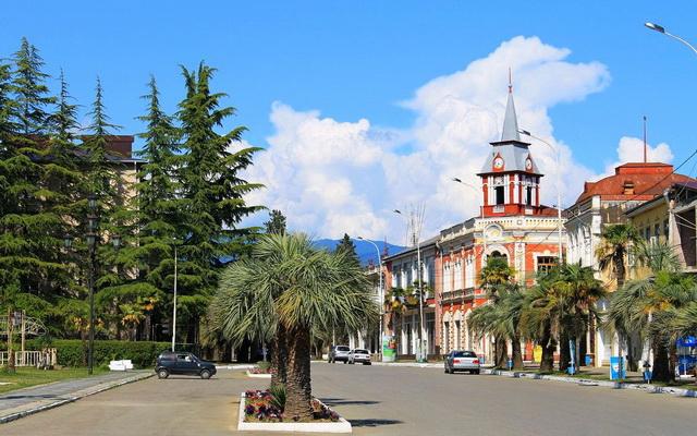 Гудаута в Абхазии