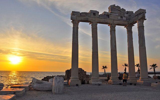 Античный город Сиде