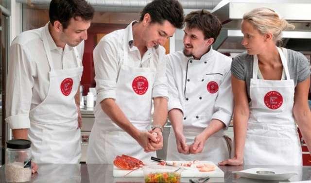 Кулинарный мастер класс в Париже