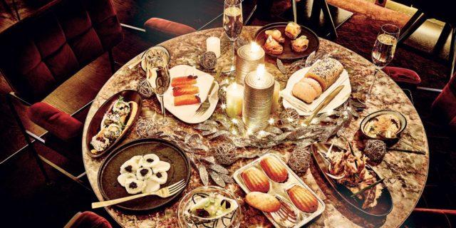 ресторан в Париже на новый год