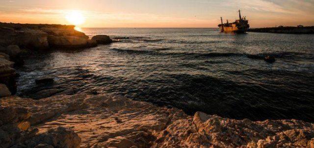 Море Кипра в ноябре