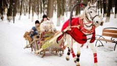 На лошадях в Карелии