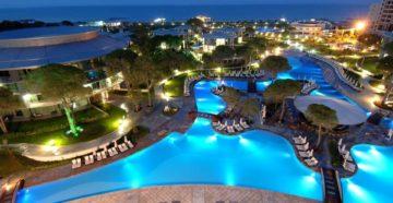 Отели турции с подогреваемым бассейном