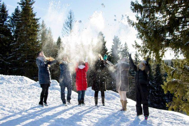 Снежные развлечения