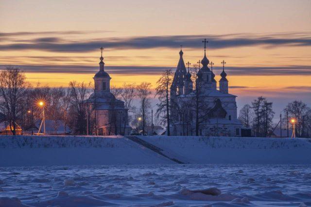Зима в Великом Устюге