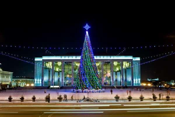 Новогодние елки в Минске