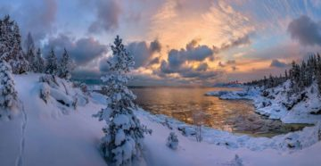 Карелия зимой